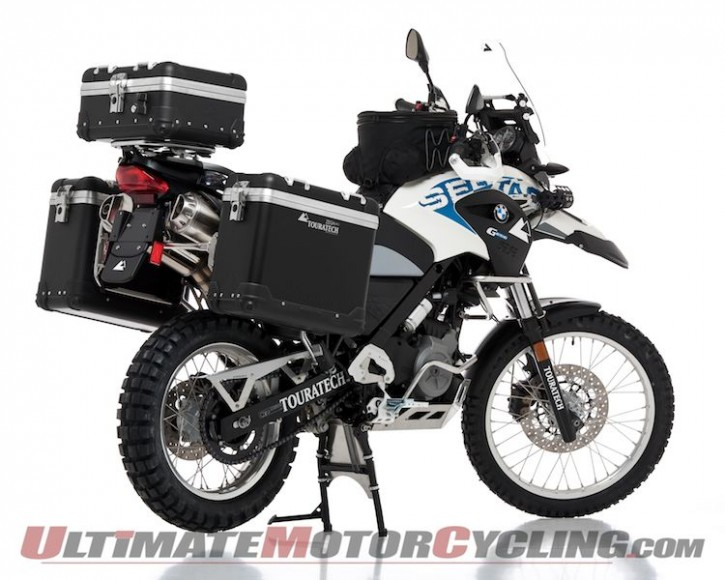 BMW G650GS Sertao: Touratech Bike Build