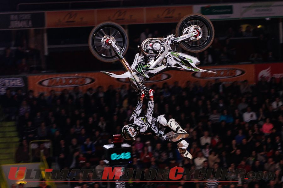 Riga FIM Freestyle Motocross | Results (Video)