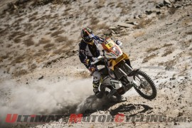 USA's Kurt Caselli took his first-ever stage win Friday during his first-ever Dakar Rally.