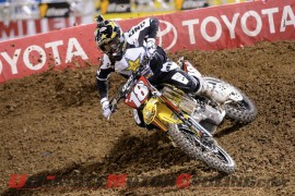 Suzuki's Millsaps Extends Supercross Points Lead