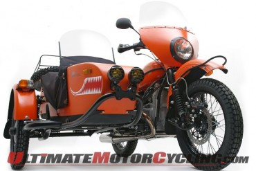Ural Posts 30% Increase in 2012 Motorcycle Sales