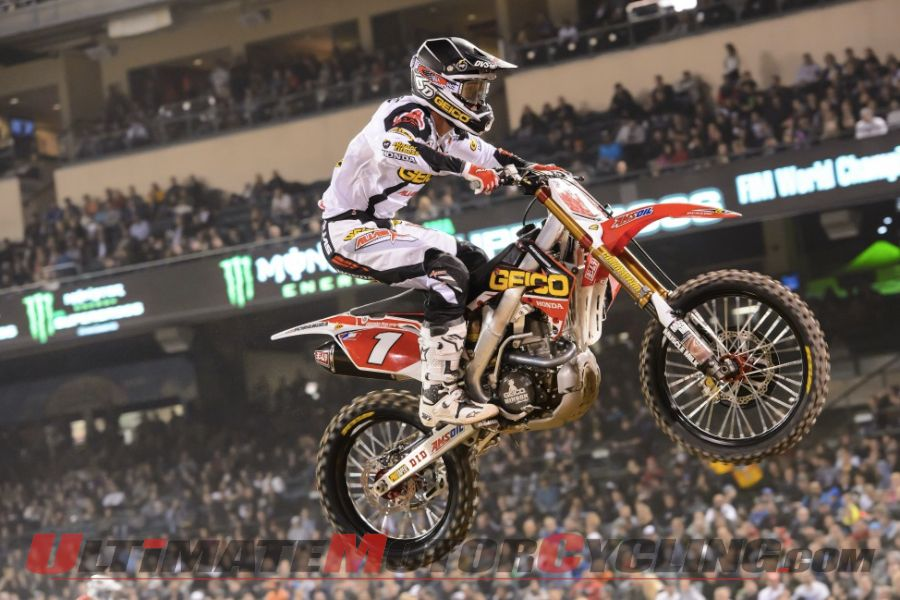 GEICO Honda's Tomac Seeks 4th Straight MX Win