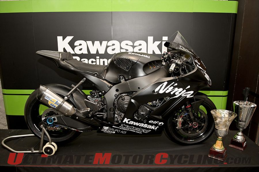 Kawasaki's Sykes & Baz Set for Private SBK Test