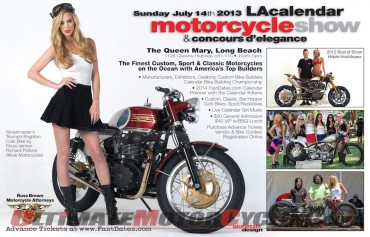 2013 LA Calendar Motorcycle Show Date Set for July 22