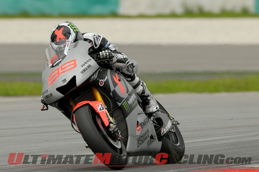 Sepang II MotoGP Test: Yamaha's Lorenzo on Top, Day 2