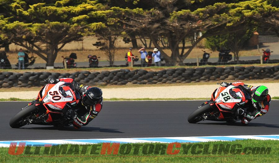 2013 Phillip Island World Superbike | Results