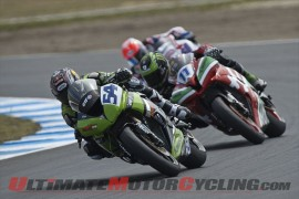Kawasaki's Sofuoglu Wins Phillip Island World Supersport