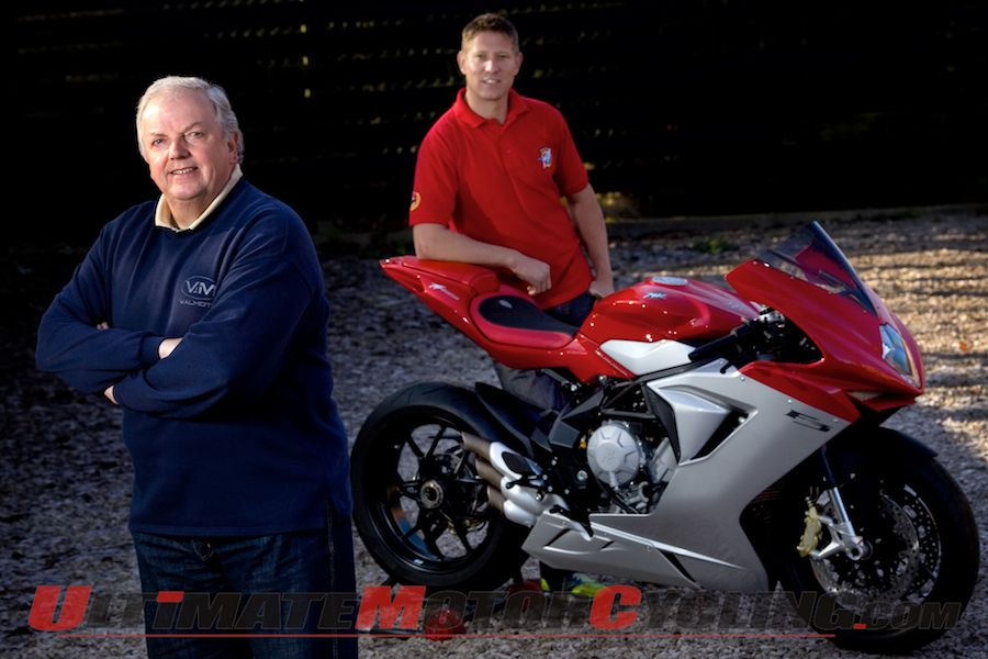 Johnson to Pilot ValMoto MV Agusta F3 at Isle of Man TT