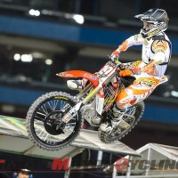 Honda's Hahn Maintains 250 Supercross Points Lead after Toronto