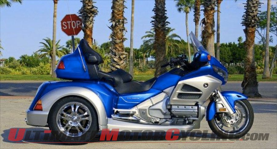 Roadsmith Releases HTS1800 Gold Wing Trike Conversion