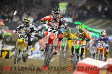 TwoTwo Motorsports Honda's Chad Reed