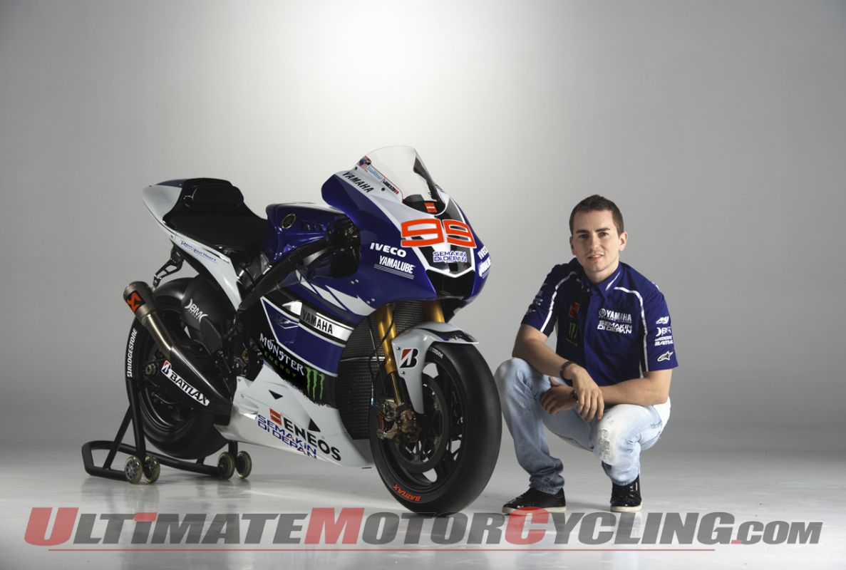 Yamaha Factory Racing MotoGP | 2013 YZR-M1 Photo Gallery