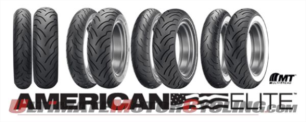 Dunlop: 2nd Generation American Elite Tires for Harley Tourers