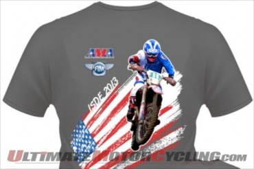Support 2013 ISDE American Squad with U.S.A. Team T-Shirt