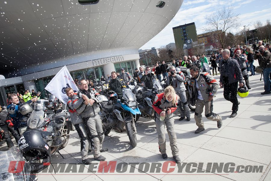'One World. One R 1200 GS' Motorcycle Arrives at BMW Museum