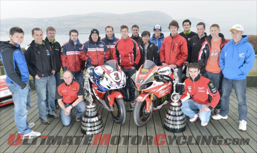 2013 Isle of Man TT - McGuinness to Carry Number 3 Plate