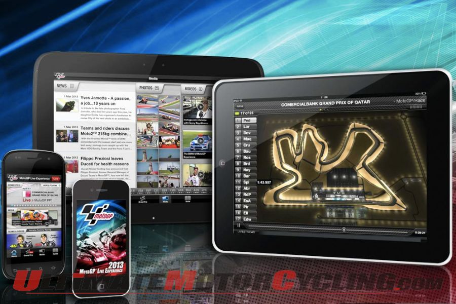 MotoGP Live Experience APP Redesigned for 2013