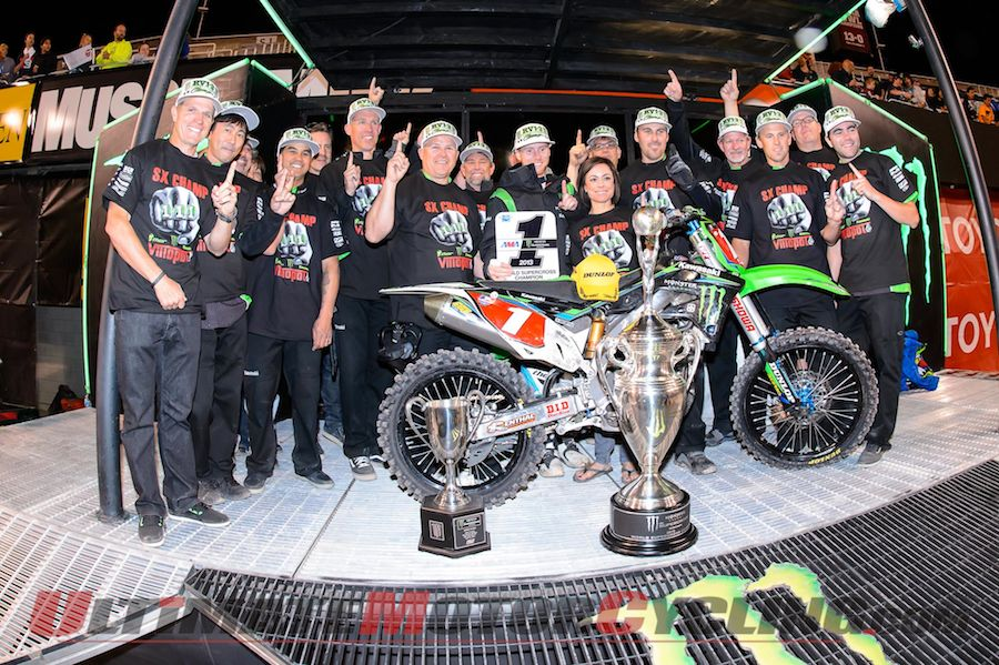 2013 Salt Lake City Supercross | Results