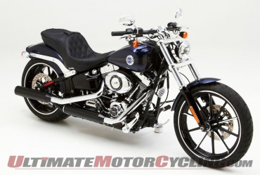 Corbin Dual Touring Seat for Harley Softail Breakout