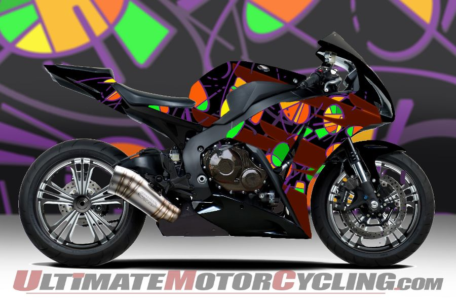 Ride for Kids Honda CBR1000RR Drawing