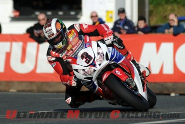 Isle of Man TT: Ideal Conditions Thursday; Superbikes Up to Speed
