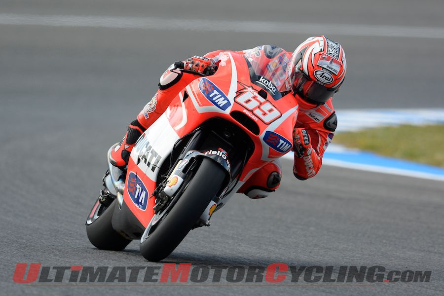 Jerez MotoGP: Lorenzo Leads Crutchlow at Friday Practice