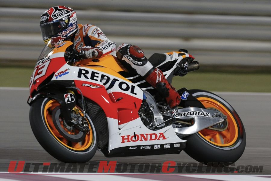 20-Year-Old Marquez on a MotoGP Record Tear
