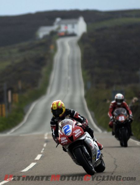 Weather Again Affects Isle of Man TT Qualifying