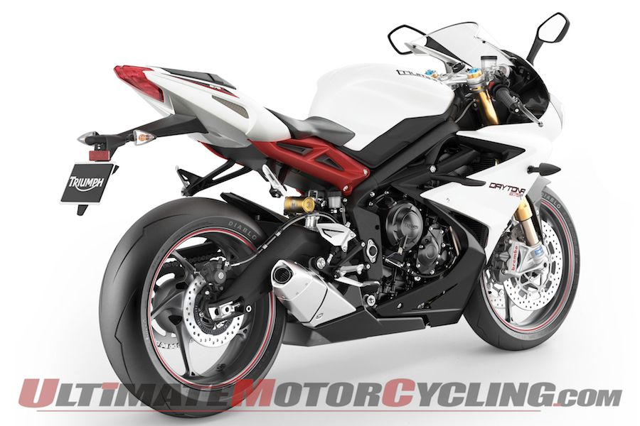 2013 Triumph Daytona 675 675 R Preview