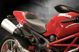 Sargent Seats Cover All 20 Years of Ducati Monsters