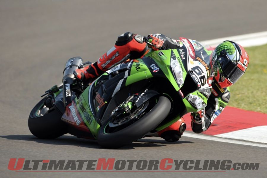 Kawasaki's Sykes Earns 6th Superpole of 2013 World SBK at Imola