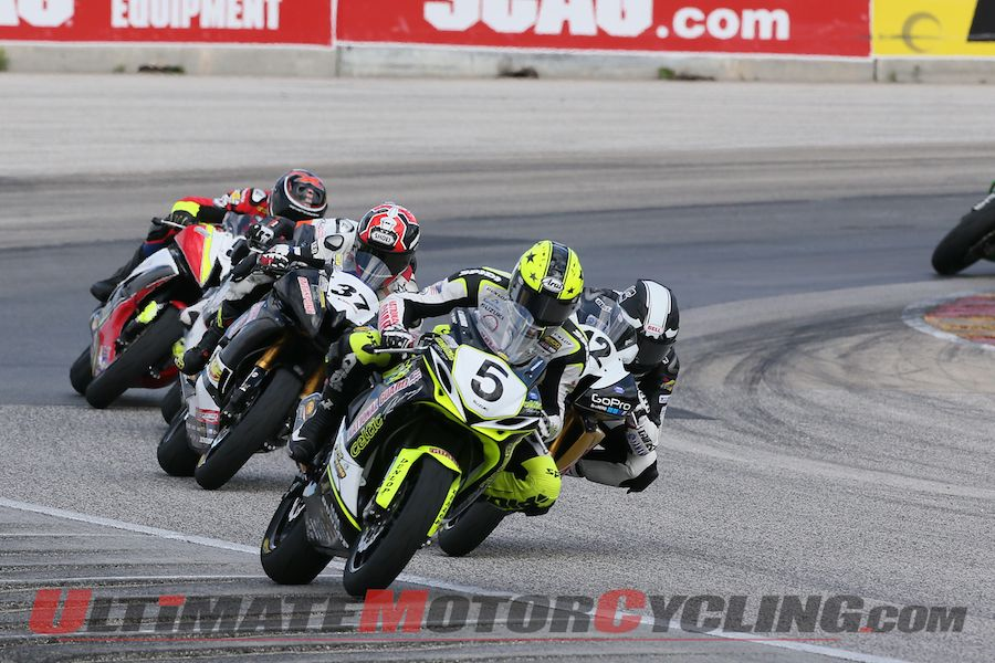 Alexander Doubles at Road America AMA SuperSport