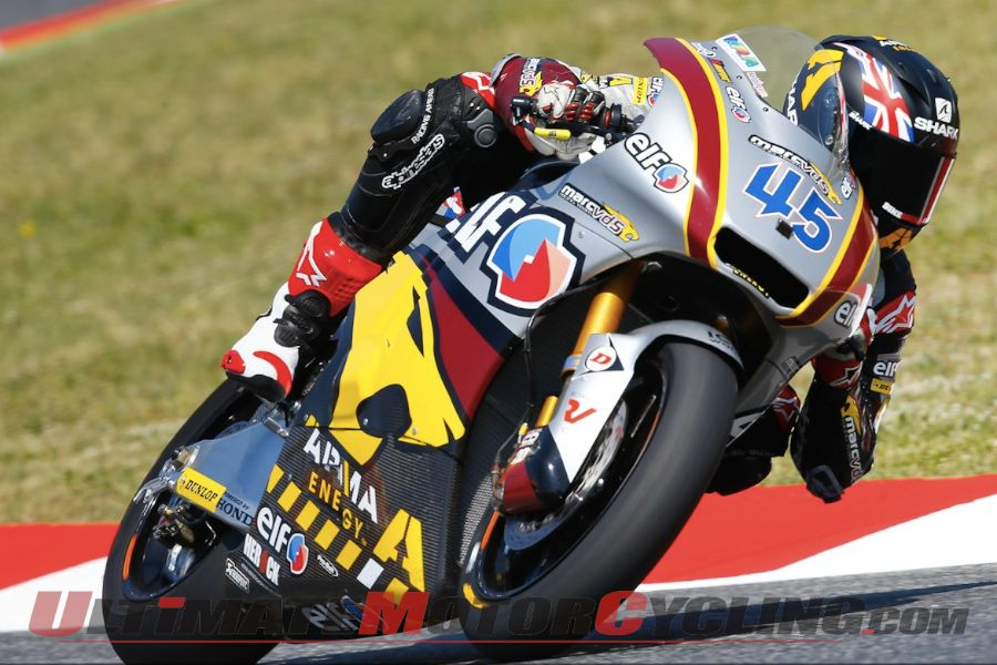 Marc VDS Racing's Scott Redding