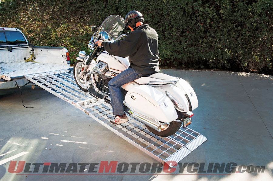 Big Boy II Two--Piece Motorcycle Loading Ramps