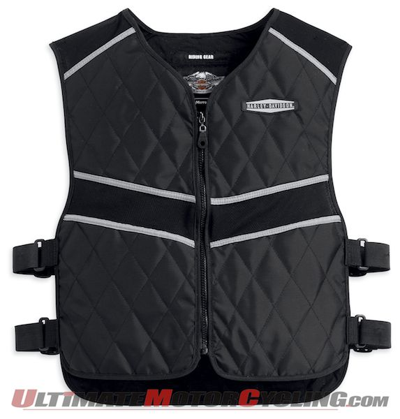 Harley-Davidson Releases Adjustable Hydration Vest for Cooling