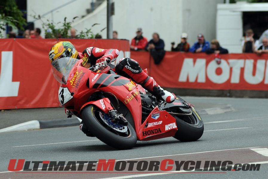 John McGuinness at 2013 Dainese Superbike TT