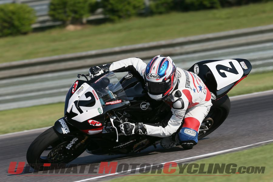 California SuperBike School/RoadRacingWorld.com Racing Honda's Joe Roberts