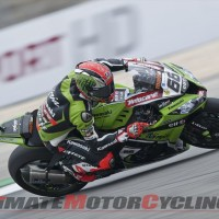 Kawasaki's Sykes Earns 5th SBK Superpole at Portimao