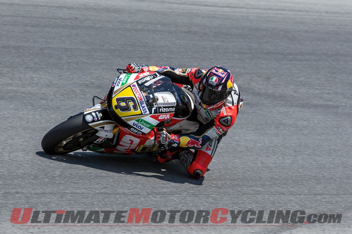 Laguna Seca Qualifying Results | Bradl Takes Maiden Pole