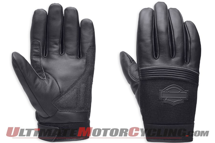 Harley-Davidson Blackoak Full-Finger Gloves with TouchTec