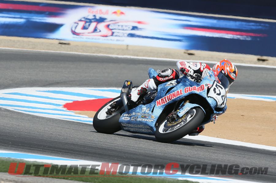 AMA Pro Road Racing | Hayden & Beaubier Top Friday at Laguna Seca