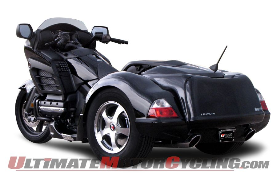 Lehman Trikes Releases Trike Conversion for Honda F6B