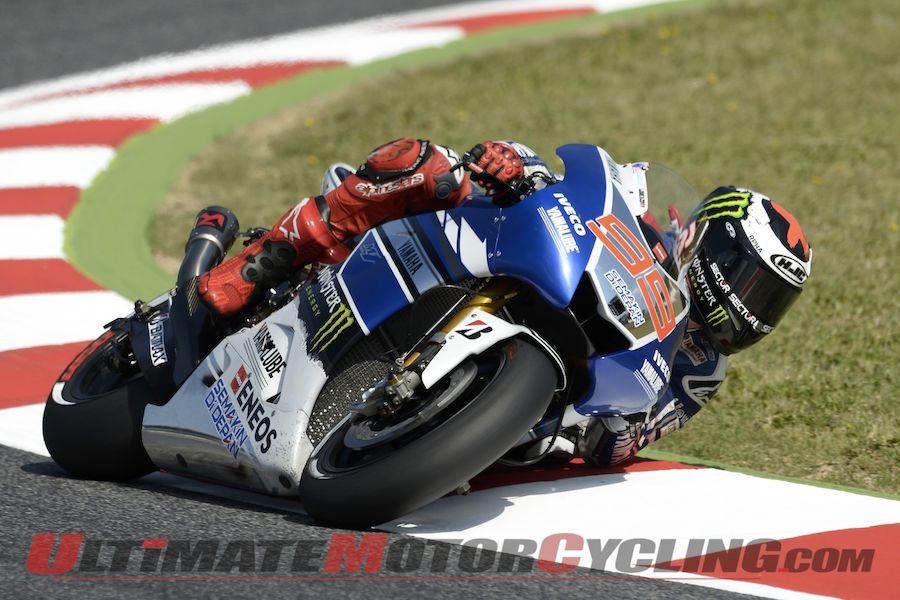"Yamaha's Lorenzo ""Going to Try"" Racing Laguna Seca MotoGP"
