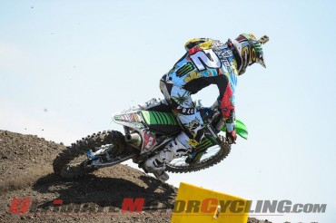 Monster Energy Kawasaki's Ryan Villopoto at Lake Elsinore