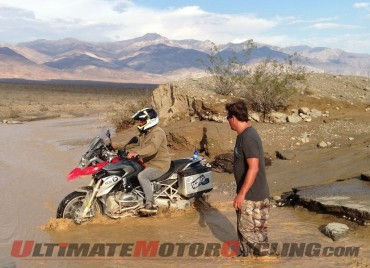 Record floods in Death Valley wash away the roads
