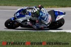 Yamaha Factory Racing's Ben Spies at 2012 Indy MotoGP (Photo: Ara Ashjian)