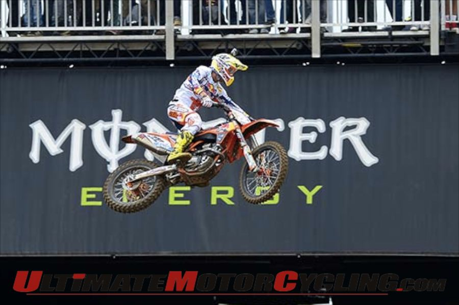 KTM's Antonio Cairoli | 2013 FIM MX1 World Champion