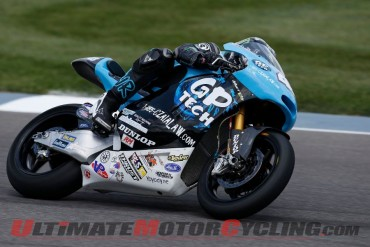 James Rispoli at Indy Moto2