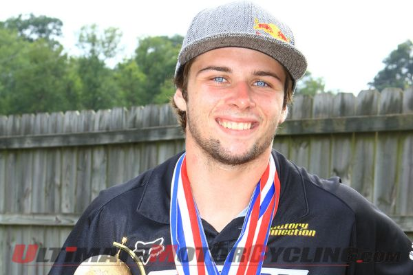 Matt Bisceglia Wins AMA Motocross Horizon Award