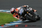 Casey Stoner testing the Honda RC213V
